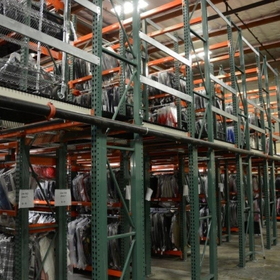 35,000 Sqft Catwalk, Rivet Shelving and Pallet Rack Supported - Buena Park, CA