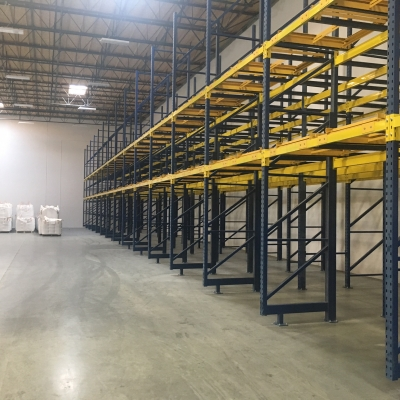 4 Deep push back and Drive In Rack – Compton, CA
