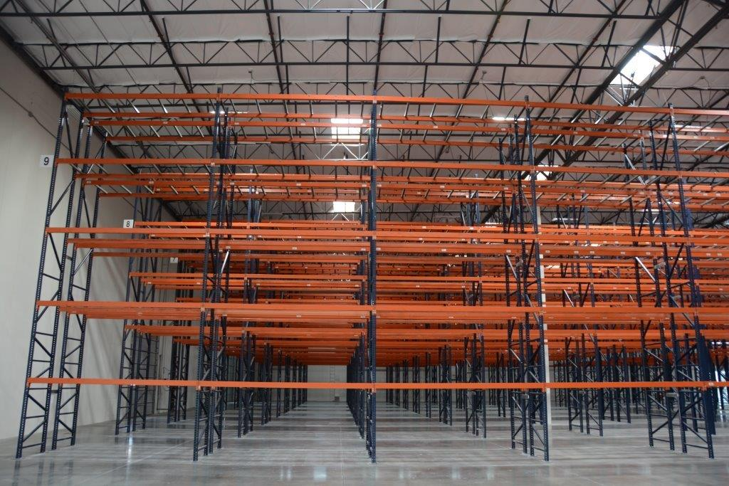 New Mecalux Pallet Rack With Carton Flow Fountain Valley